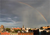 Rainbow - from a 7th street rooftop