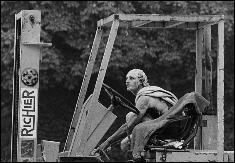 The Knife Sharpener  - April, 1981, Versailles