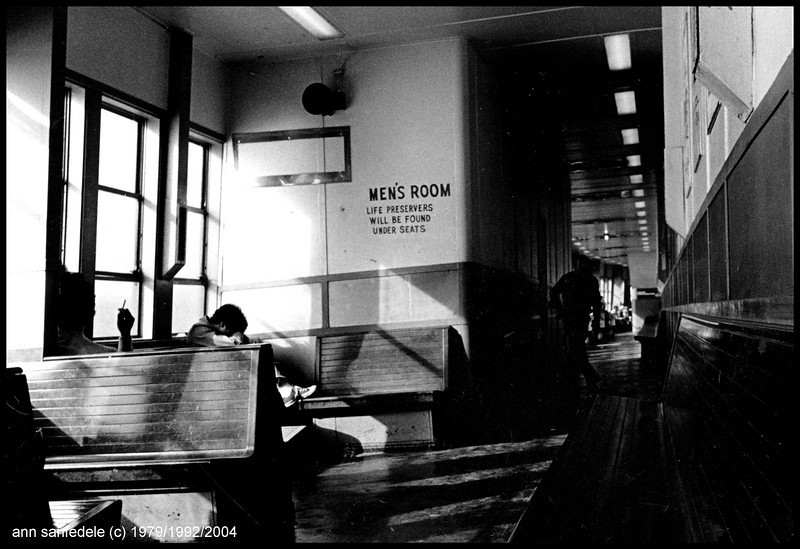 New York City - on the Staten Island Ferry - 1979