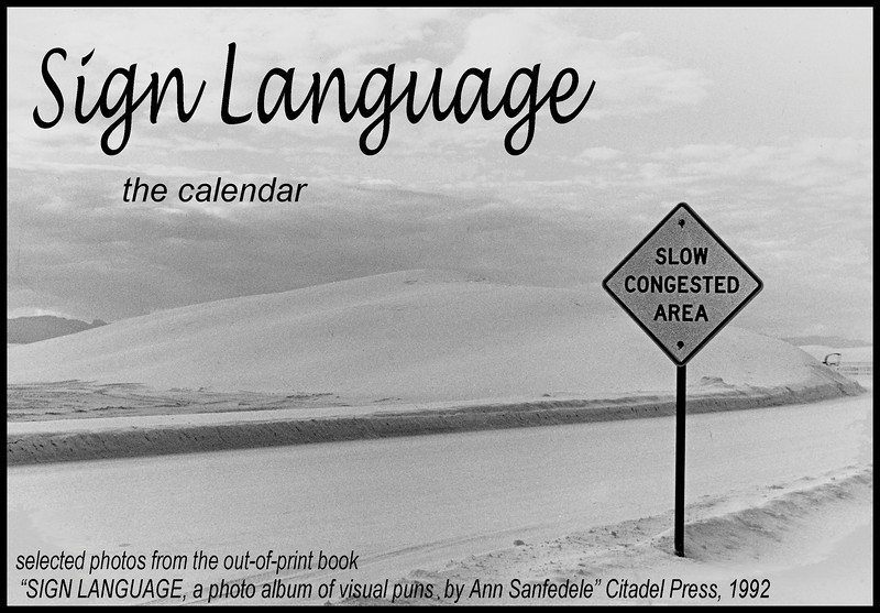 The Sign Language Calendar Cover