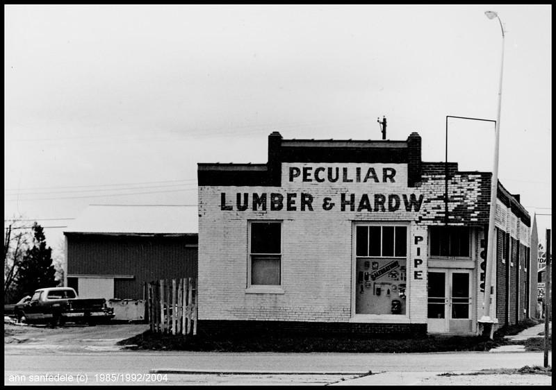 Peculiar, Missouri - 1985
