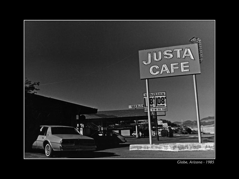 Justa cafe, Globe Arizona