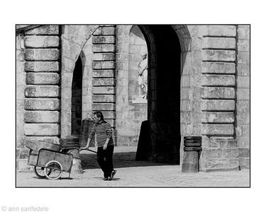 Workman at Fontainbleu