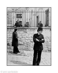Paris, April 1981 - Montmartre ?  (I think)
