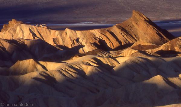 Death valley from Zabritski Point November, 1984