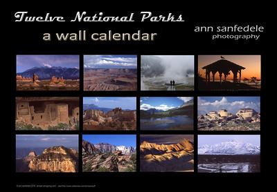 Twelve National Parks - cafepress format