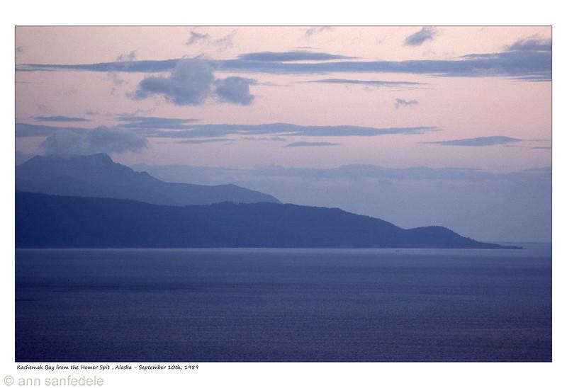 View from OVerlook at Homer, Alaska