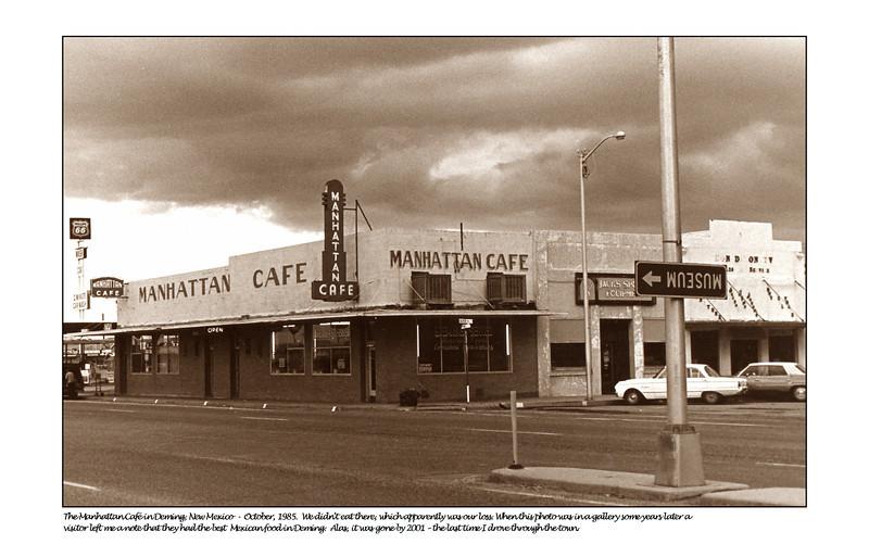 Manhattan cafe