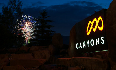 3rd of July / Canyons fireworks