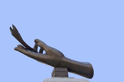 Monument des Femmes, rue des Jardins, Quebec City
