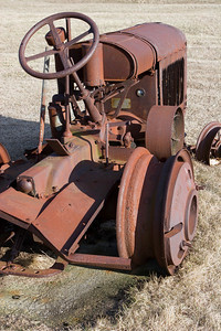 Rusted, Abandoned Tractor #1