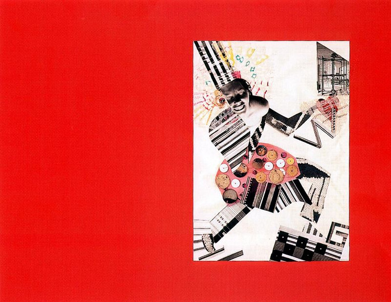 "Collage made for the album ""9 years Bauhaus"""