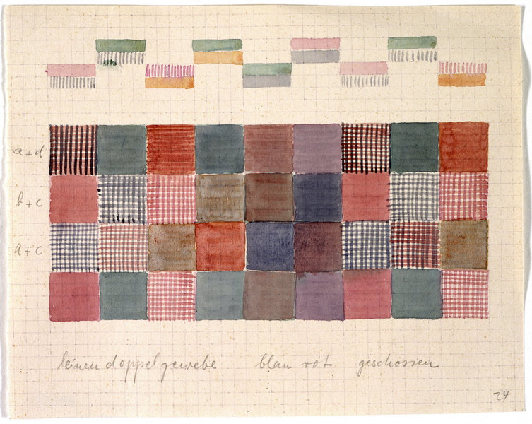 Design for a Double-Weave in Linen