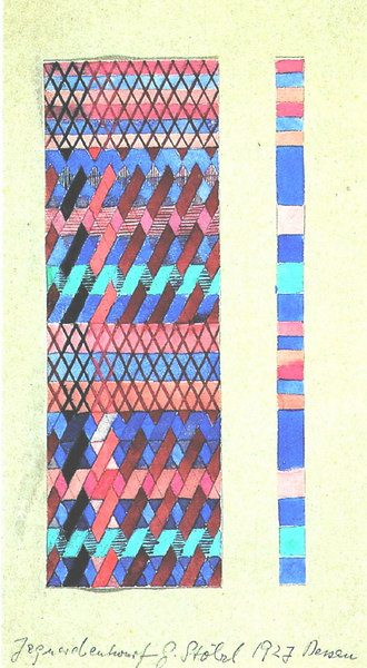 Design for a Jacquard Woven Textile