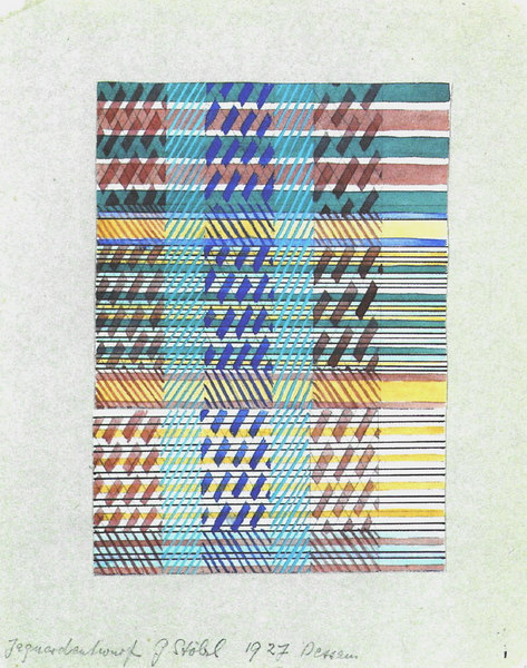 Design for a Jacquard Woven Fabric
