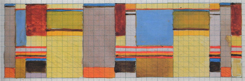 Bauhaus Dessau<br /> 8.6x24 cm<br /> ca.1926<br /> Misawa Homes Bauhaus Collection, Tokyo