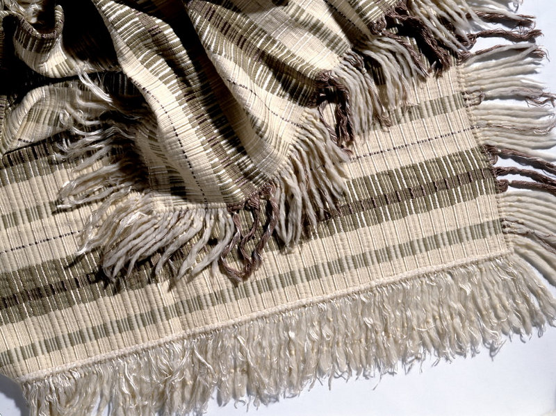 Large Blanket with Fringes