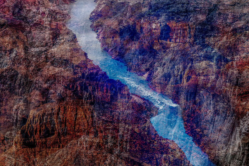 Grand Canyon, 2018 | size 195 x 130 cm