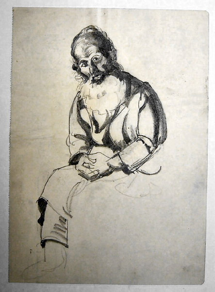 Undated<br /> 27.2x19.6 cm<br /> <br /> Private collection