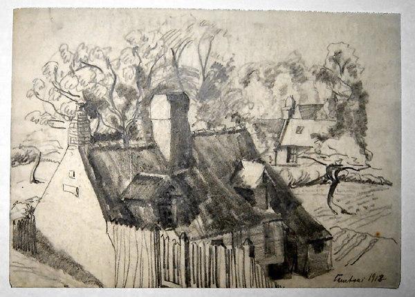Cambrai 1918<br /> <br /> 21x29cm