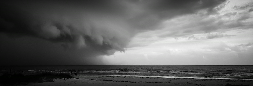 Super Cell on the Beach