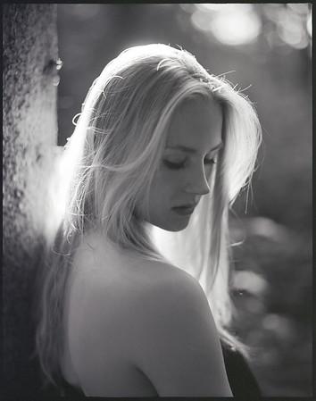 Kathi im Wald