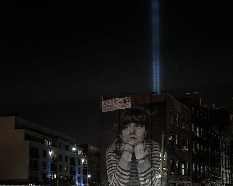 2017 Tribute in Light (Williamsburg)