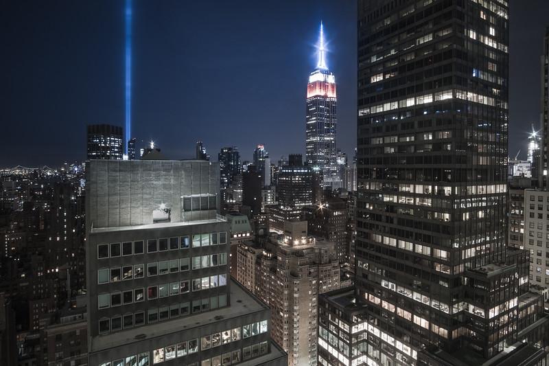 2017 Tribute in Light (101 Park Avenue)