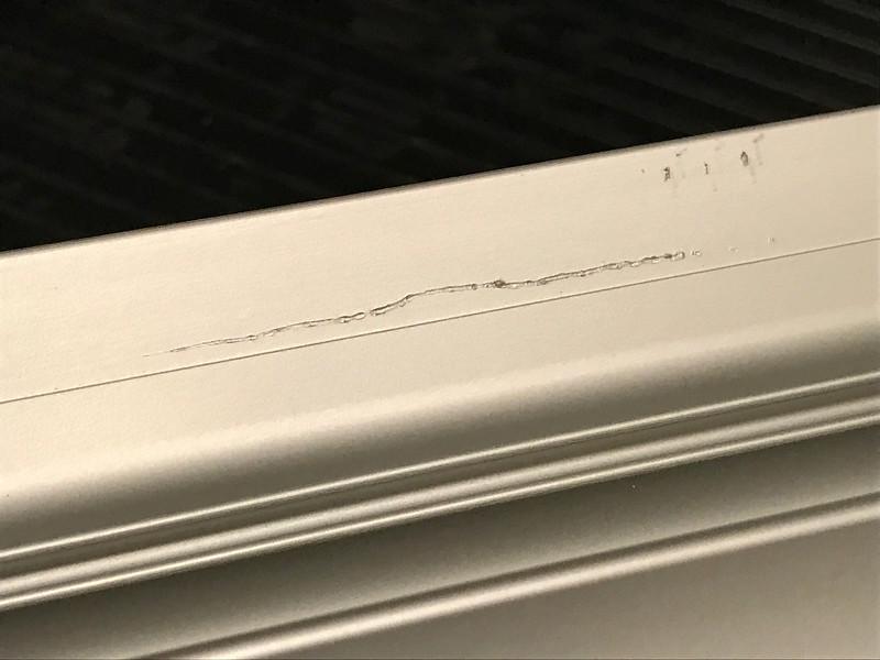 new FastCap SafeCut ruler, unfortunately damaged when i got it
