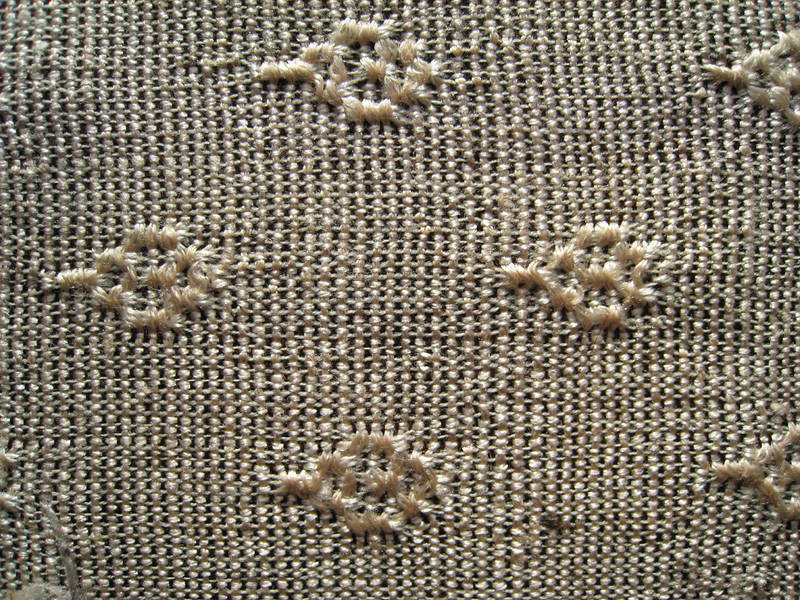 Curtain Fabric - Detail