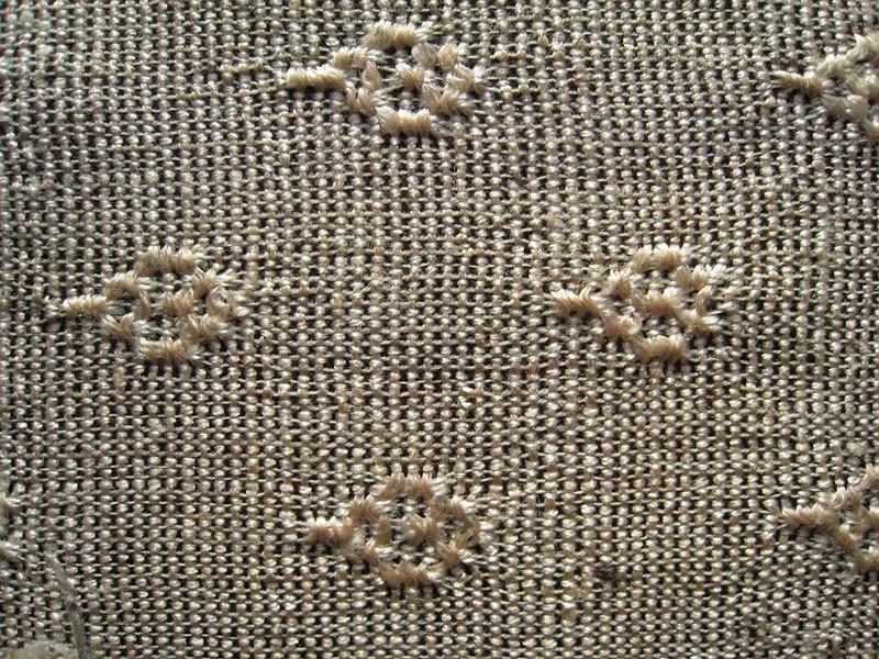 Curtain Fabric - Detail