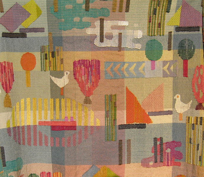 """Wall hanging """"See"""" - Detail"""