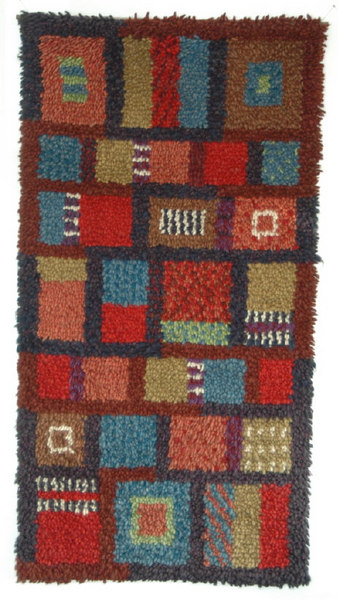 Hand-Knotted Wall Hanging