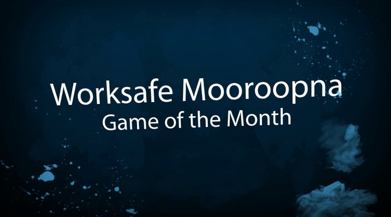 Worksafe Game of the Month: Mooroopna<br /> July 17, 2011
