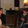 Jane and host Véronique Verjat from L'oasis.