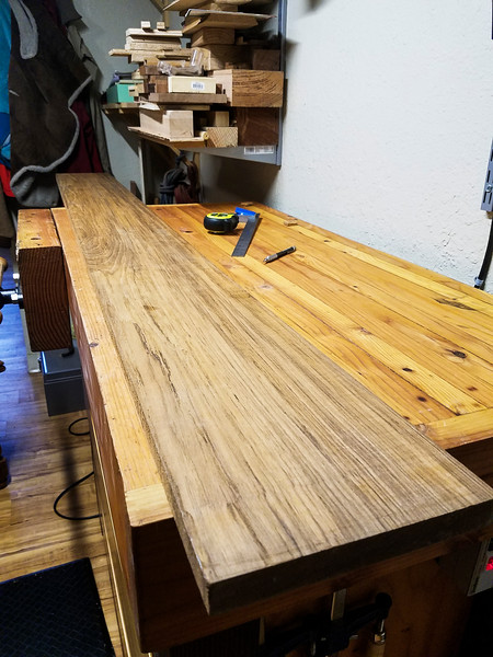 I started this project with a chunk of Teak. I've never worked with Teak before and it was a pleasure. This wood has properties that allow it to resist weathering better than others, making it a choice for outdoor or wet applications.