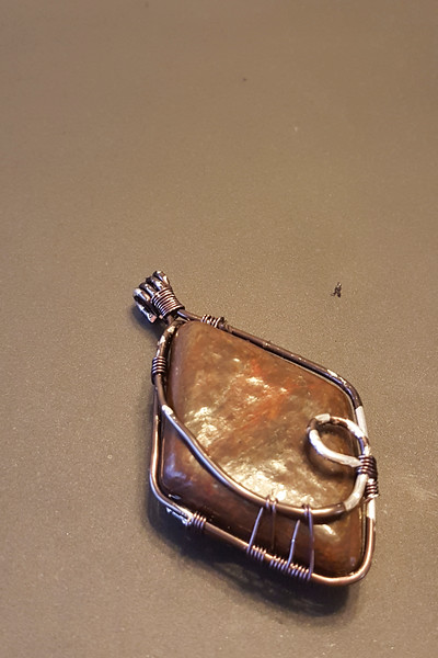 A rough copper wire test of the final design.