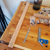 The finished bench stop, prior to applying a coat of boiled linseed oil.