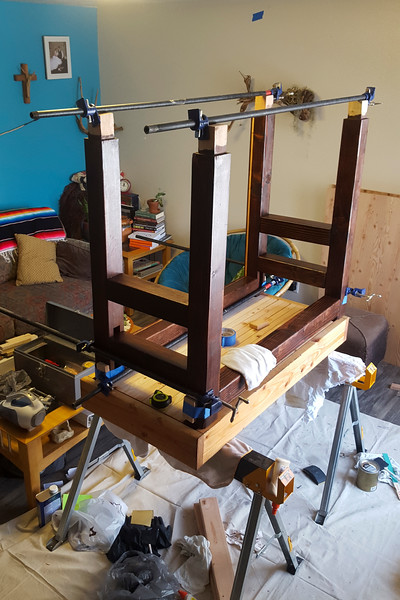 The frame glued together pretty well, albeit a bit tightly on the parts that are supposed to move. I's super solid, just like I wanted it, and it's beautiful like I wanted it, too.