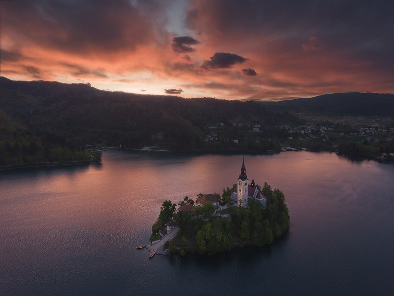 Bled on Fire