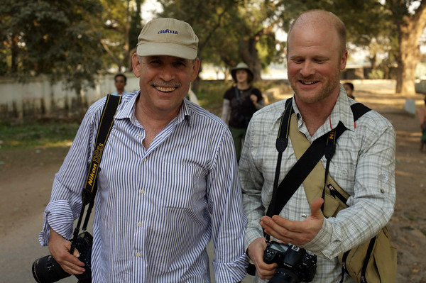 Steve McCurry  (left)