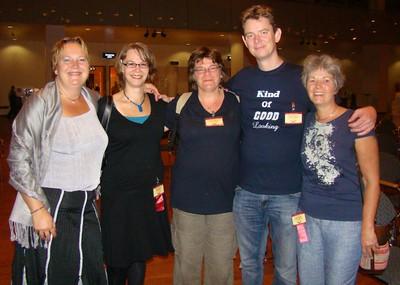Anita, Maija, Ingrid, Ruben, Irene