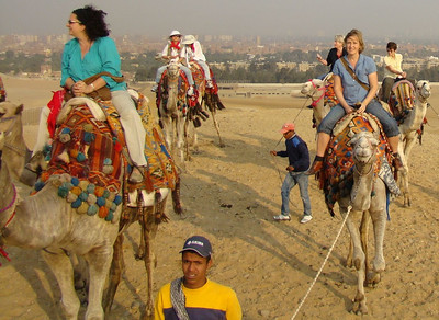Camel Ride - Giza plateau (Nov 23)