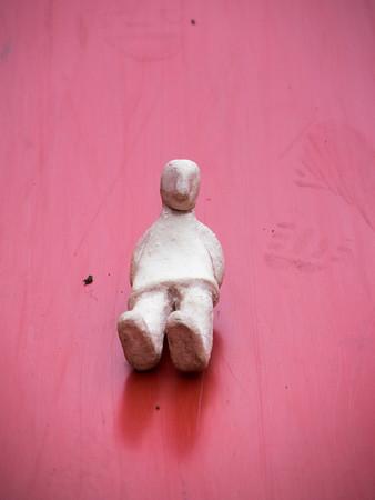 Fotograaf: Sanne. Thema: Het durfal Manneke