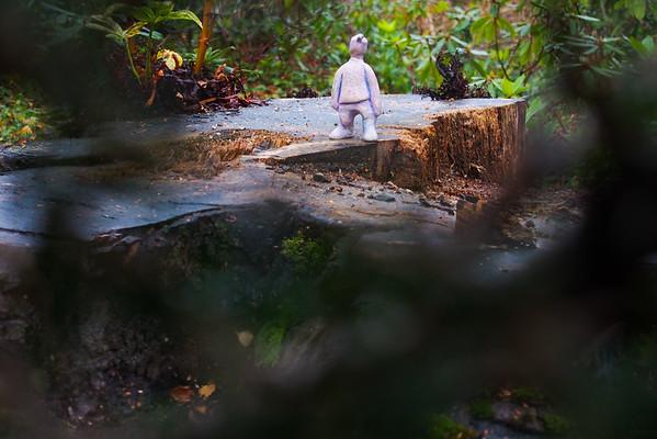 Fotograaf: Nathalie. Thema: Het Manneke ontdekt de wereld