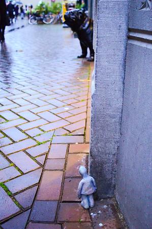 Fotograaf: Michelle Thema: Het verlegen Manneke