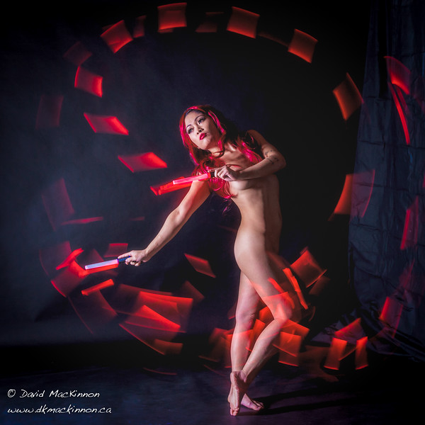 Here is another image from a recent nude digital projection and light painting workshop  with the talented Carmen C Camacho and studio space provided by John Glenn.  
