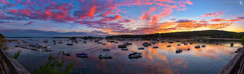 Seal Harbor at Sunset