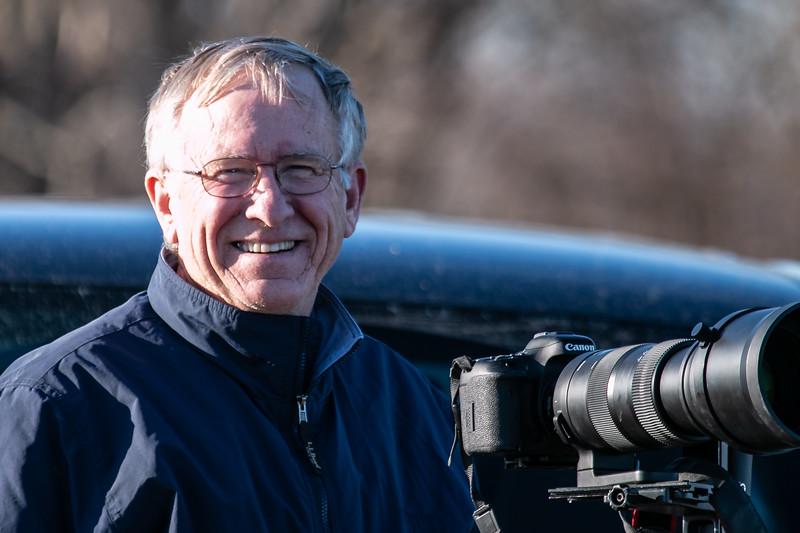 John German, President 2013. Taken 2019.
