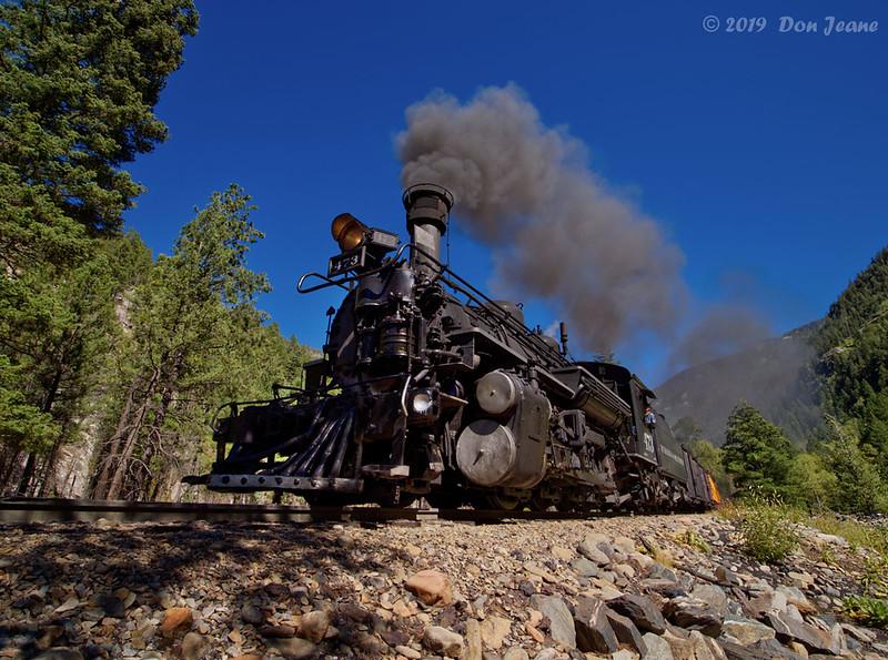 Durango & Silverton RR - wide angle 15mm.  09/22/2019.